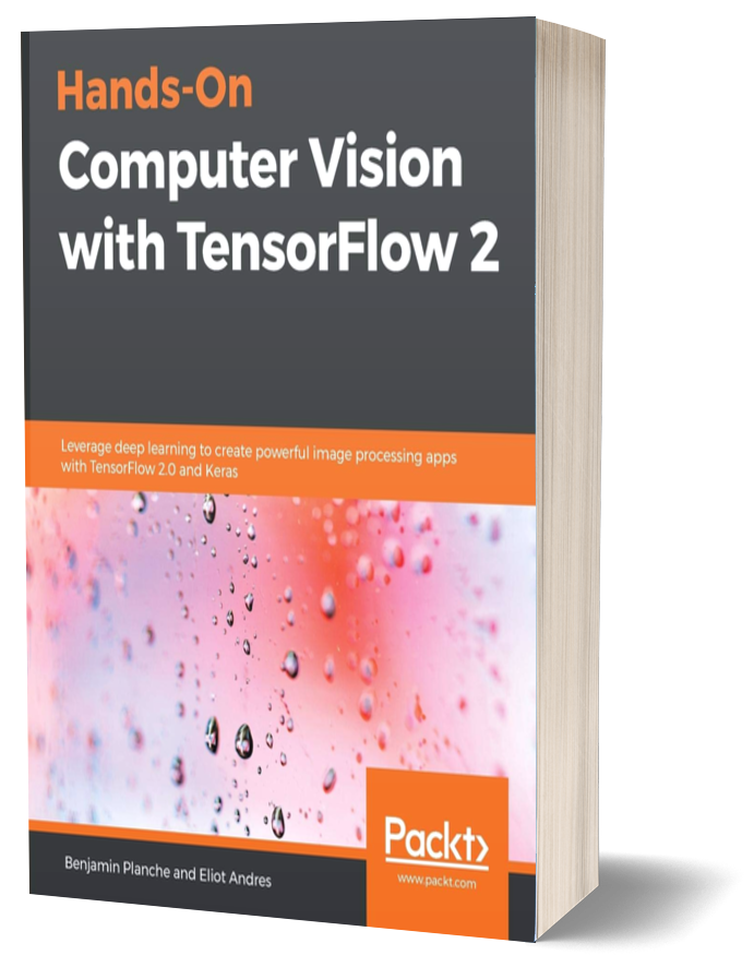 Book Cover - Hands-On Computer Vision With TensorFlow 2